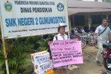 Pelajar di Sumut minta sumbangan untuk bayar uang komite