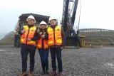 Menteri BUMN Rini perdana kunjungi Garsberg Freeport setelah dikuasai RI