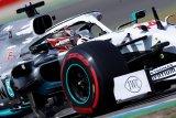 Hamilton raih pole position GP Jerman  ketika duo Ferrari bertumbangan
