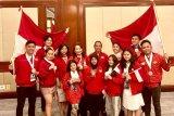 Indonesia bawa pulang 19 medali Kejuaraan Dunia Seni Pertunjukan