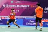 Indonesia amankan tiket final kedua dengan kemenangan Leo/Daniel di Asia Junior Championship