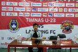 Laga uji coba, TImnas U23 kalahkan Lampung FC 2-0