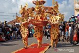Ribuan pengunjung sangat antusias saksikan Fashion Carnaval TCOF