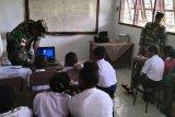 Satgas Yonif 328/DGH bekali ilmu komputer kepada pelajar perbatasan