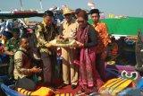 Hadiri sedekah laut, Menteri Susi minta nelayan jaga sumber daya alam (VIDEO)