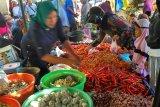 Harga cabai rawit di Mataram menembus Rp80.000