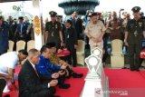 Menhan ziarah ke Taman Makam Pahlawan Kusumanegara Yogyakarta (VIDEO)
