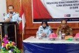 Kakanwil Kemenkumham Sulbar  tegaskan ormas wajib berasaskan Pancasila