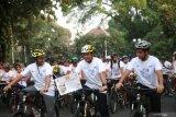 Kedubes India mengajak warga Jakarta bersepeda peringati 150 tahun Gandhi