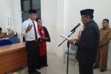 Kadis KP Sulteng Arief Latjuba lantik pejabat baru