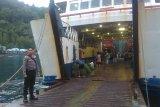 Kepolisian pantau pengamanan bongkar muat di Pelabuhan Pehe