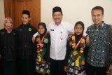 Berprestasi di Bali, dua pesilat Magelang dapat hadiah Rp8,6 juta