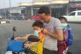 Warga Palembang diimbau gunakan masker hindari asap