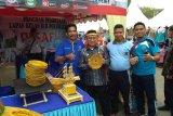 Kreativitas warga binaan Lapas Polewali Mandar  dipamerkan pada PIFAF
