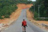 Perjalanan dan kisah tanda botol 'feeling' Jokowi di lokasi bakal calon ibu kota