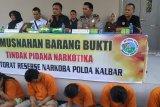 Polda Kalimantan Barat ungkap jaringan narkoba napi LP Madiun