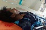 Tidak terima di tegur, JN bawa senpi dan parang bunuh ketua RT dan melukai polisi