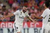 Pelatih Real Madrid percaya diri oleh hatrik Karim Benzema