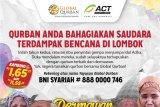 Global Qurban-ACT  distribusikan daging untuk pengungsi gempa Lombok
