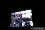 Warga dihibur lagu Didi Kempot di Istana Merdeka pascagempa