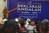 Gubernur Sulsel  berharap Organisasi Gowa Mo sebagai pengontrol pemerintahan