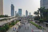 Rabu pagi, Pegadungan memiliki kualitas udara terburuk di Jakarta