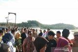 Komisi V DPR RI meninjau Bendung Kamijoro di Bantul