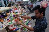 Penjual telok abang mulai bermunculan di Palembang  jelang HUT-RI