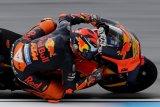 Pebalap MotoGP jajal di Sirkuit Brno