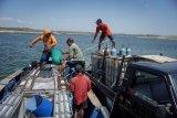 Panen ikan di Waduk Kedung Ombo
