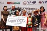 1.000 anak Indonesia ini dapat beasiswa dari Lippo Malls