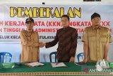 Mahasiswa STIA Mataram membantu pengembangan Desa Wisata Senteluk