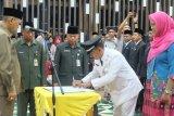 83 pejabat eselon IV dilantik, Wabup Inhil: aparatur harus melayani masyarakat