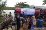 ACT  distribusi air bersih untuk warga pesisir Kabupaten Pangkep