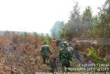 Tol Palembang-Indralaya aman, karhutla berhasil padamkan kebakaran lahan di sekitar tol