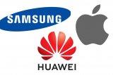 Ponsel Apple, Samsung, atau Huawei bersaing dalam kecepatan unduhan dan akses video