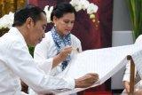 Ibu Negara Iriana Joko Widodo promosi kesehatan dan pelestarian lingkungan di Batam
