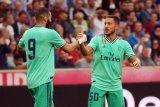 Eden Hazard lepaskan gol di Real Madrid