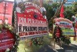 Prabowo hadiri Kongres V PDI Perjuangan