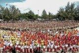 Pertunjukan musik Bambu Tada di Festival Morotai pecahkan rekor Muri