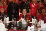 Megawati Soekarnoputri akan dikukuhkan kembali sebagai ketua umum PDI Perjuangan