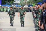 Panglima TNI Hadi Tjahjanto  memuji Puslatpur Amborawang