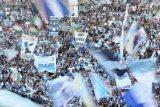 Bos kelompok fans Lazio garis keras ditembak mati