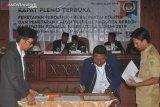 Pelantikan DPRD terpilih Penajam oleh Ketua PN