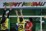 Tim bola voli putri DKI jakarta akan berhadapan Jawa Tengah di final
