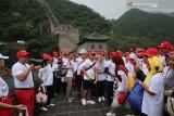 270 WNI peringati HUT ke-74 RI di Tembok Besar China
