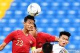 Timnas U-18 belum mampu cetak gol babak pertama kontra Myanmar