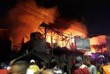 Dua korban meninggal, satu terluka kebakaran di Pasar Kambing