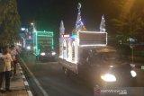 Puluhan kendaraan hias ramaikan malam takbiran di Parepare