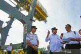 Menteri Perhubungan kunjungi Pelabuhan Pantoloan